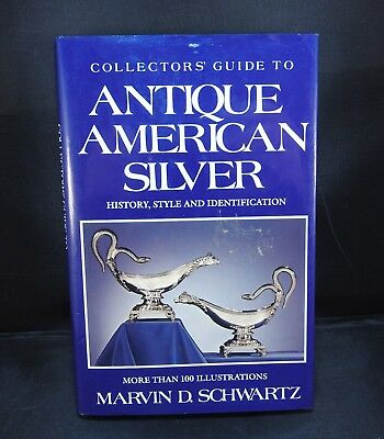 Antique reference book Collector's Guide to Antique American Silver
