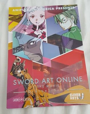 Promotional Card Sword Art Online The Movie Ordinal Scale