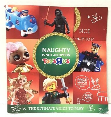 Toys R Us Holiday 2017 Christmas Toy Catalog, ToysRUs 118 Pages Book Collectible