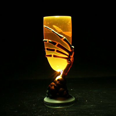 Spooky Scary Luminous LED Cup Goblet SKull Claw Night Light For Halloween