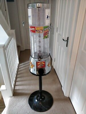 Tubz Sweet Tower Vending Machine and stand New £1 coin Great Condition Serviced