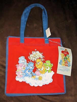 NWT VINTAGE American Greetings Corp. Canvas Care Bear Tote Bag!  HTF!  RARE!