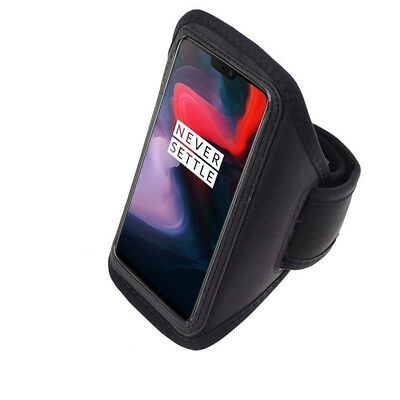 For OnePlus 6 Sport Gym Running Jogging Workout Armband Cover Arm Holder Case