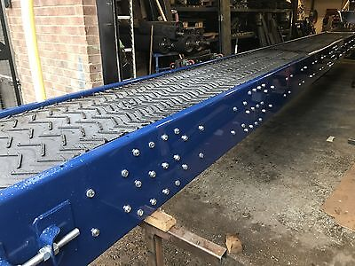 Conveyor system, Heavy duty,1500mm wide x 4 meters long NEW Build.