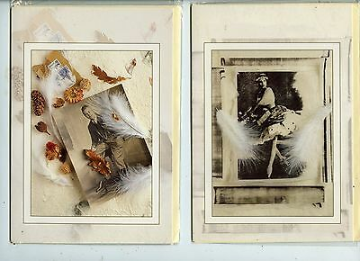 Note Cards 1-Off Man & 1-Off Lady Studio Pics