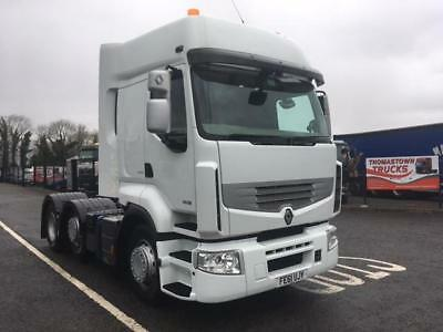 2012 Renault Premium 460 Dxi Sleepercab 6X2 T/unit With Tipping Gear