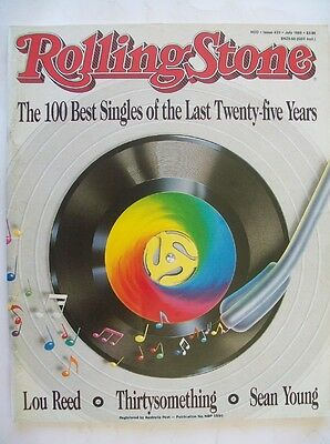 Rolling Stone Mag - 100 Best Singles for the past 25 Years (1963-89), Lou Reed