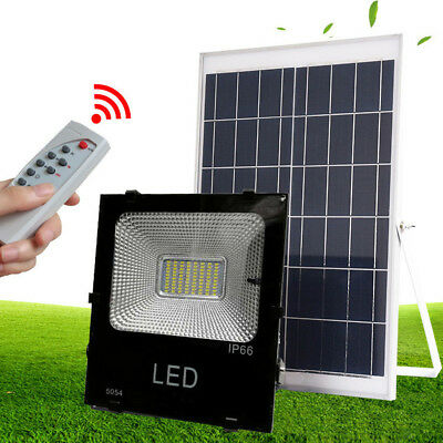 10W Waterproof Solar Panel Powered LED Spot Light Lamp for Outdoor Yard Lawn