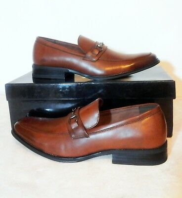 3e4f8222cbe NEW ADOLFO MENS Slip-on Oscar 4 Dress Shoes brown size 10.5 loafers ...