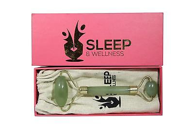 Sleep & Wellness Premium Anti-Aging Jade Roller for Facial Massage Therapy