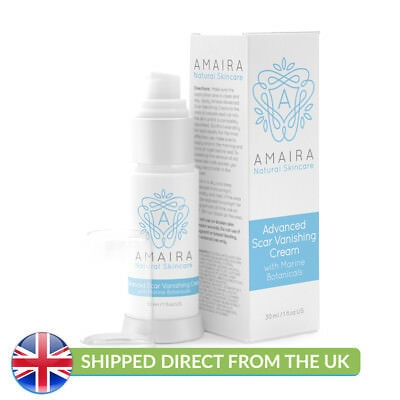 Amaira Advanced Scar Fading Cream with Marine Botanicals - UK SELLER!