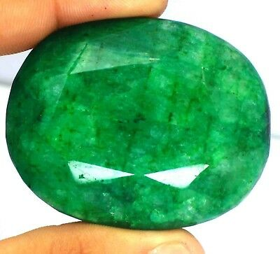 Free Shipping 609.20 Ct EGL Certified Natural Oval Cut Green Emerald Gems BZ862