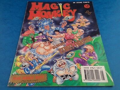 Vintage Comic - MAGIC MONKEY #4 - 1992 Dr. Leung Ting Sunny V's Street Fighters