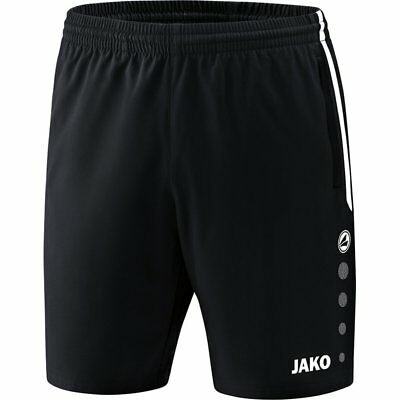 Jako Short Competition 2.0 Kinder schwarz Hose Sport Fitness Training Jogging