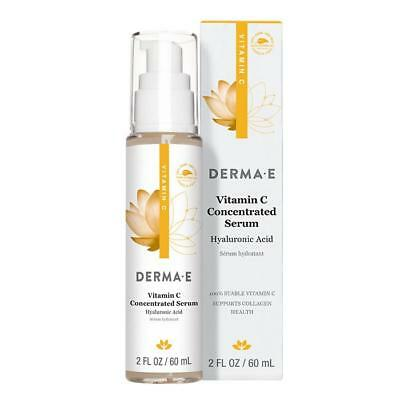 Derma E Vitamin C Concentrated Serum Hyaluronic Acid 2.0 oz.