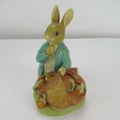 Vintage Peter Rabbit Beatrix Potter Money Box - Made by Frederick Warne & Co