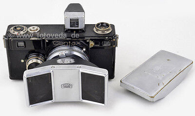 Zeiss Stereotar C 1:4 f=35mm JENA + PRISM + FINDER + Contax I COMPLETE & RARE !