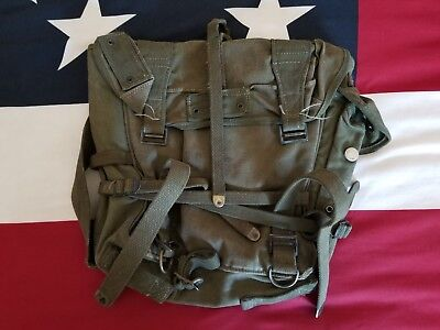 WWII US M-1945 Combat Field Pack USMC Marine Corps Army GI Soldier Paratrooper