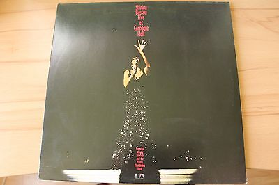 Shirley Bassey - Live at Carnegie Hall ; 2 LPs