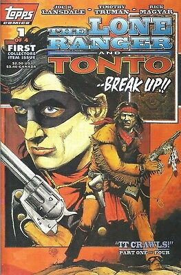 The Lone Ranger And Tonto #1  It Crawls I  Topps Comics  1994   Nice!!!