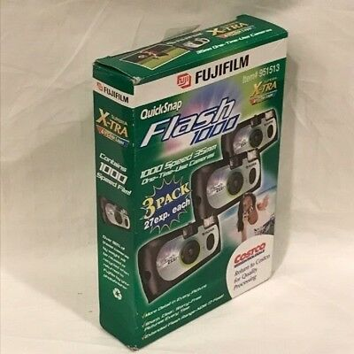 Fujifilm Quicksnap Flash 800 Speed/ 35mm One-time Use Camera (3 Pack) 27exp