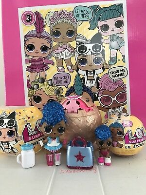 Lol Surprise! ⭐️ Big & Lil Independent Queens Set -New/Unopened Bags/Authentic