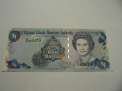 Banknote Cayman Insel 1 $ 1996