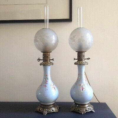 Antique French lamps 19th Century