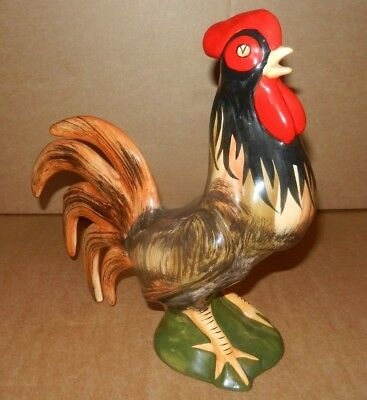 Large Vintage Babbacombe COCKEREL 9""