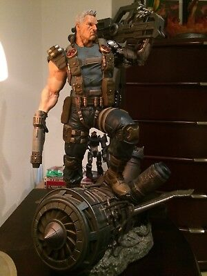 XM Studios Cable Statue 1/4 Scale Not Sideshow Not Deadpool US Seller!!