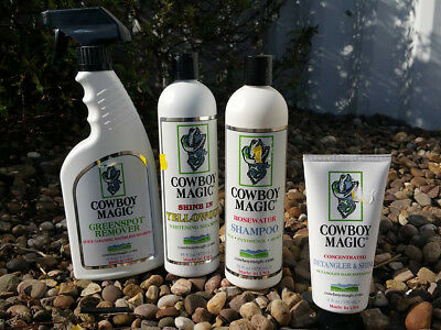 Cowboy Magic Horse Cleaning Products