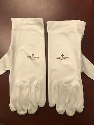 Original Patek Philippe Showroom Display Microfiber Handling Gloves - Large Size