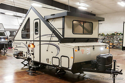 New 2018 T21FKHW A Frame Hard Side Pop Up Trailer AKA Rockwood A214HW For Sale