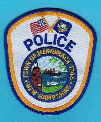 Merrimack Police Department Patch ~ New Hampshire ~ Very Nice Colors & Artwork