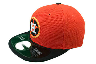 Houston Astros MLB Baseball Cap - New Era 59fifty Orange/Black