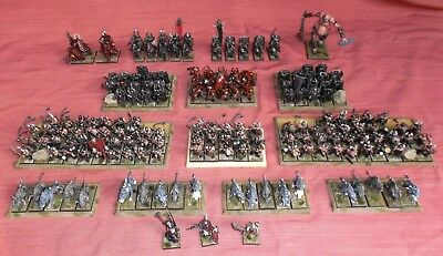 Large Painted Warhammer Fantasy Chaos Army. 179 Games Workshop Citadel models.
