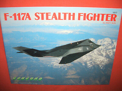 Concord 1017, F-117A STEALTH Fighter