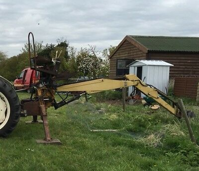 McConnell Power Arm Back Hoe Digger