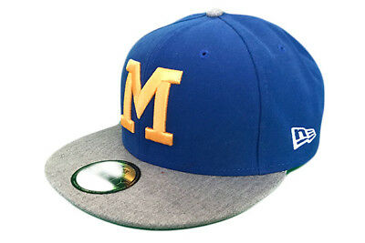 Milwaukee Brewers Cooperstown Heathered Out MLB Baseball Cap - New Era 59fifty