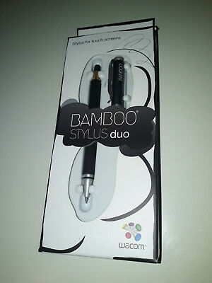 Wacom Bamboo Stylus duo CS-150 Eingabestift (für iPad, Smartphones & Tablet-PCs)