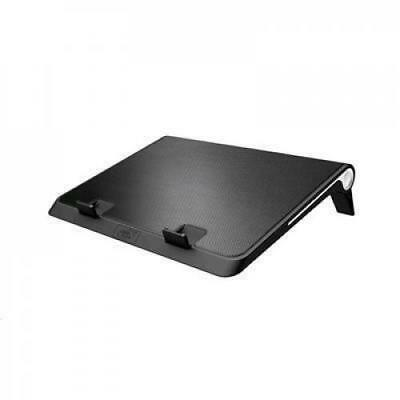 """DEEPCOOL N180 Notebook Cooler (Up To 17""""); 2 Viewing Angles; Metal Mesh Panel; 1"""