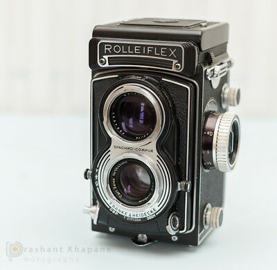 Rolleiflex T TLR with Tessar Lens (Type4) and recently CLAed