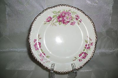 VINTAGE WOODS IVORY WARE PLATE  MADE IN England