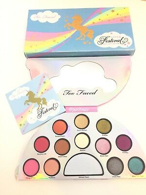 TOO FACED Life's A Festival Eye Shadow Palette (Authentic)