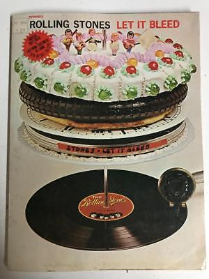 Rolling Stones Let It Bleed  - Original Songbook for guitar/piano/voice