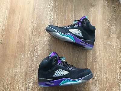 e6b318f68a2e69 NIKE AIR JORDAN 5 Retro Grape Black 2013 Size 9.5 -  179.99