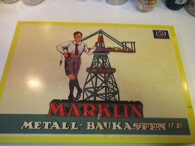 Marklin: 10110 metal constructor set, boxed