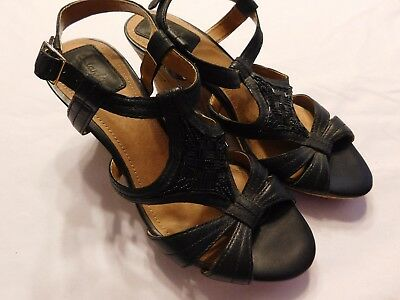 c6dd3e664cd7 NEW CLARKS ARTISAN Womens Evant Julie Black Sandals Shoes 63983 size ...