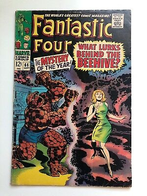 Fantastic Four 66 Awesome VG/VG+ 1st HIM Appearance!