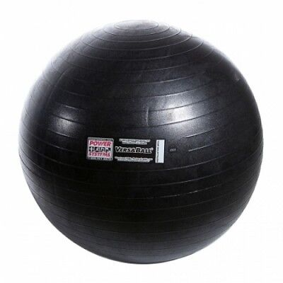 Power Systems 80018 55cm VersaBall Stability Ball - Jet Black. Free Shipping